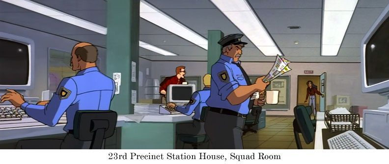 23rd Precinct Station House, Squad Room