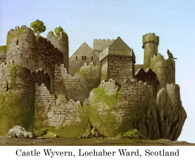 Castle Wyvern, Lochaber Ward, Scotland