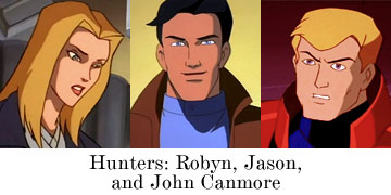 Hunters: Robyn, Jason, and John Canmore